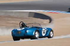 AC Shelby Cobra FIA Roadster (Chassis CSX2260 - 2012 Monterey Motorsports Reunion) High Resolution Image