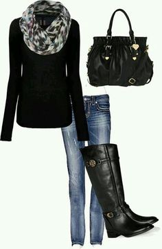 ♥ love these boots! But I need they to for my big calves.