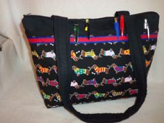 Doxie Dachshund Weiner dog Handbag tween tote purse on SALE so cute great for collectors add a name couture small tote personalize fun gift by designsbykeri4u on Etsy https://www.etsy.com/listing/44721504/doxie-dachshund-weiner-dog-handbag-tween