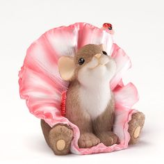 Charming Tails You're Just TuTu Cute Ballet Mouse Figure NEW Enesco 4027688