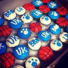 University of Kentucky basketball uk cupcakes