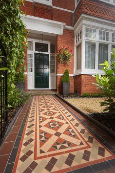 Victorian Floor Tiles | Pinterest | Bespoke, Victorian and Entrance ...