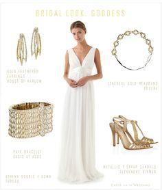 Greek Goddess Wedding Dress   Dress For The Wedding