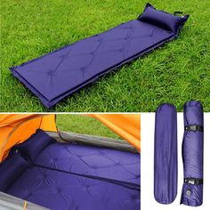 Self Inflatable Inflating Air Mattress Sleeping Pad Outdoor Bed Camping Mat J0 #UnbrandedGeneric
