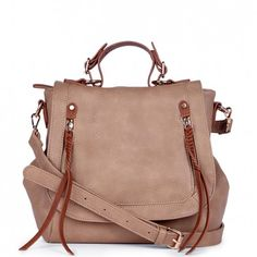 My new bag!!! *SCRATCH THAT* Was emailed by CS and even though when I purchased this they were still available on the website, that I can't get one because they sold out... TOTALLY UNHAPPY. If something is sold out then TAKE IT OFF THE WEBSITE. Ugh! Was really looking forward to getting this * Women's Natural Vegan Leather Vegan Messenger | Rhea by Sole Society