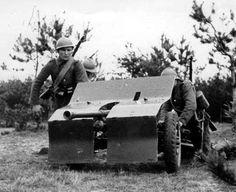 Działon (kawalerii) 37 mm działka ppanc. Bofors wz. 36.