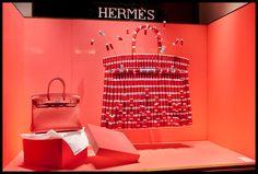 Vitrine Hermès Paris. Hermès windows Paris. Designed by Joséphine Pinton. Photo Patrick Burban.
