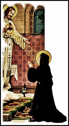 GALERIA DE SUPORTE AO BLOG PALE IDEAS     clique com o botão DIREITO para ampliar as imagens      Sta. Margarida Maria Alacoque   SAGRADO ...