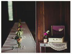 Table setting-simple elegant-antique