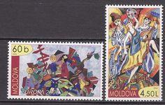 Moldova 2006 Scott 523-524 Europa Children MNH