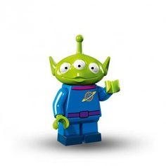 Lego Minifigure Alien