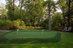 Garden Design Golf Course Putting Range
