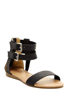 Livia Gladiator Sandal by I Heart Footwear on @HauteLook
