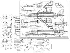 Phantom II by John Bell from Bell Models - plan thumbnail Paper Airplane Models, Model Airplanes, Paper Models, Rc Plane Plans, Balsa Wood Models, F4 Phantom, Airplane Design, Aircraft Painting, Patent Drawing