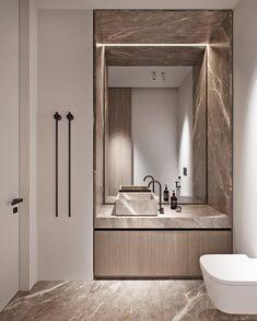 Boho Home Decor Luxury Interior Design Using A Neutral Palette.Boho Home Decor Luxury Interior Design Using A Neutral Palette Bathroom Design Luxury, Luxury Interior Design, Interior Styling, Modern Luxury Bathroom, Contemporary Interior Design, Interior Lighting, Bad Inspiration, Bathroom Inspiration, Scda Architects