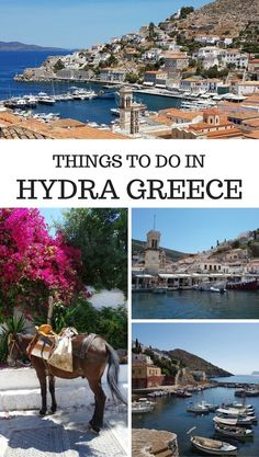 Things to do in Hydra island Greece. Travel in Europe.
