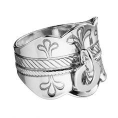Kalevala Koru / Kalevala Jewelry / Lapin korut -sormus / Lappish Jewelry Ring / Material: silver