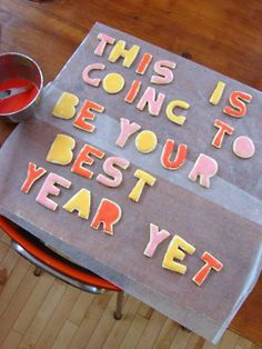 cookie inspiration for a new year