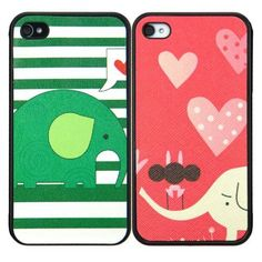 Little Elephant iPhone Case For Lovers