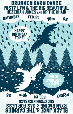 Birthday Party 4, design by Jenny Harley