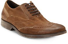 End of the Road Distressed Suede Wingtips on shopstyle.com