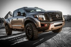 Wider, taller, and meaner than its showroom cousin, the Nissan Titan Warrior Concept is yet another design exercise we'd like to take for a spin - in the dirt, not on the road. The rugged truck sits three inches higher...
