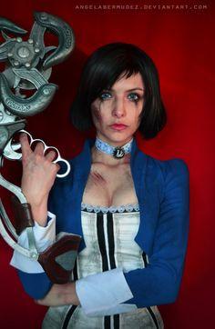 Elizabeth-Skyhook Portrait by AngelaBermudez on deviantART