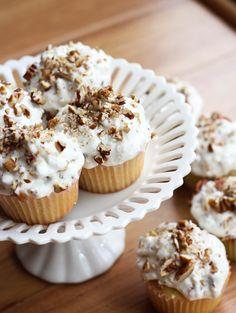 Pioneer Woman-Inspired Italian Cream Cupcakes