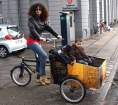 The Christiania Bike – the story of a Copenhagen icon Christiania Bike, Transport Wheelchair, Transportation For Kids, Build A Bike, Birthday Presents For Him, Old Bicycle, Cargo Bike, Listening To Music, Bicycles