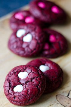 Red Velvet Chocolate Chip Cookies(From Scratch)