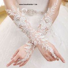 Braut Handschuh Bina