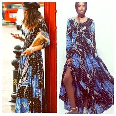 FREE PEOPLE Pleated Maxi Floral A Line Dress NWT NWT AND STUNNING! Retail $148.  Free People Dresses Maxi