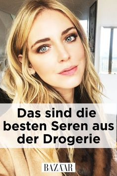 Das Serum aus der Drogerie Good skin care does not have to be expensive! Harper's Bazaar shows the best serums at budget prices from the drugstore. The serum from the drugstoreThe serum from the drugstoreThe serum from the drugstore Beauty Care, Diy Beauty, Beauty Skin, Beauty Hacks, Best Serum, Natural Beauty Tips, Facial Care, Tips Belleza, Harpers Bazaar