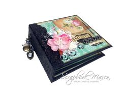This Mini Album uses the Interactive Pocket Page Tutorial: http://youtu.be/4xK2p_Nhnnw And the Marion Smith Romance Novel Scrap Kit: http://scrapbookmaven.co...