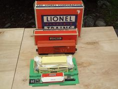 150 best lionel postwar trains images on pinterest model trains lionel trains postwar no 3656 operating cattle car corral original boxes cheapraybanclubmaster Gallery
