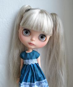 OOAK custom Blythe doll *** Dove *** customized by Nora