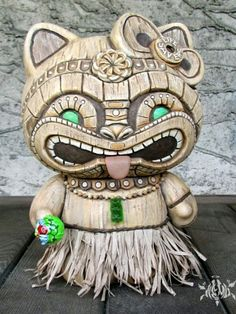Hello Kitty Tiki--hahahaha! So absolutely wrong but yet so right for me.
