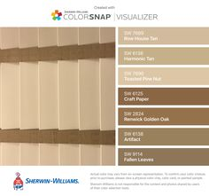 I Found These Colors With Colorsnap Visualizer For Iphone By Sherwin Williams Row