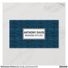 Bohemian Pattern Business Card