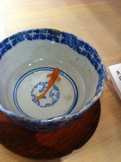 Goldfish art by Riusuke Fukahori