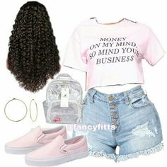Would you wear this summer fit?💛 _ _ _ Shoes Vans Zumiez _ _ _ Source by outfits drawing Jordan Outfits For Girls, Cute Teen Outfits, Cute Outfits For School, Teenager Outfits, Dope Outfits, Teen Fashion Outfits, Trendy Outfits, Soft Grunge, Harajuku