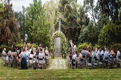 A dream-like lavish garden Wedding