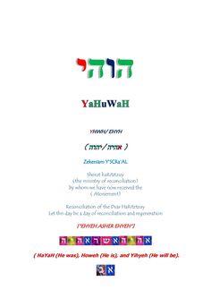 Wa yiqra (and he called) by Keiyah ben Yâ-hwuah via slideshare