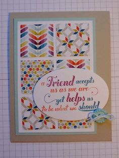 Feeling Good about SAB by lizzier - Cards and Paper Crafts at Splitcoaststampers