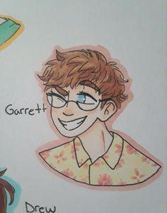 GARRETT! <3 Shane Dawson Memes, Shane Dawson And Ryland, Shawn Dawson, Cartoon Drawings, Cute Drawings, Garrett Morgan, Vlog Squad, Joey Graceffa, Gw