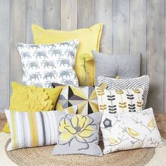 Wide range of Filled Cushions available to buy today at Dunelm, the UK's largest homewares and soft furnishings store. Living Room Colors, Living Room Grey, Living Room Decor, Bedroom Decor, Bedroom Ideas, Gray Bedroom, Bedroom Inspo, Bedroom Inspiration, Blue And Mustard Living Room