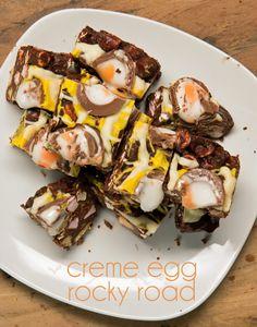 Creme Egg Rocky Road