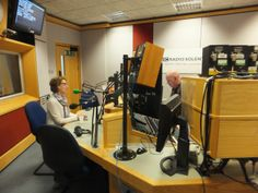 Pauline Rowson talking to Julian Clegg on air BBC Radio Solent Breakfast Show Jan. 2014 about her crime novels featuring the flawed and rugged DI Andy Horton, set in Portsmouth and the Isle of Wight.