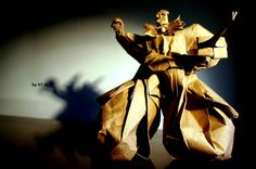 An assortment of amazing looking origami models from Japanese culture and mythology from many talented origami artists. Take a look and you'll be impressed! Origami Artist, Japanese Mythology, Origami Models, Japanese Culture, Statue, Amazing, People, Character, Design