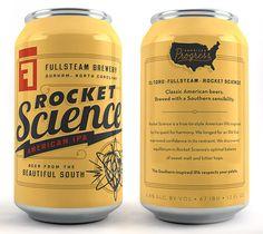 Fullsteam Brewery Cans | Designer: Helms Workshop
